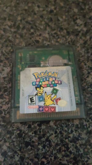Gameboy color Pokemon Puzzle Challenge for Sale in Methuen, MA