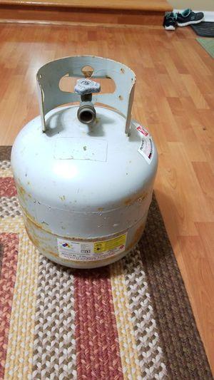 Empty 20 gallon propane tank works on almost all propane bq grills for Sale in Carol Stream, IL