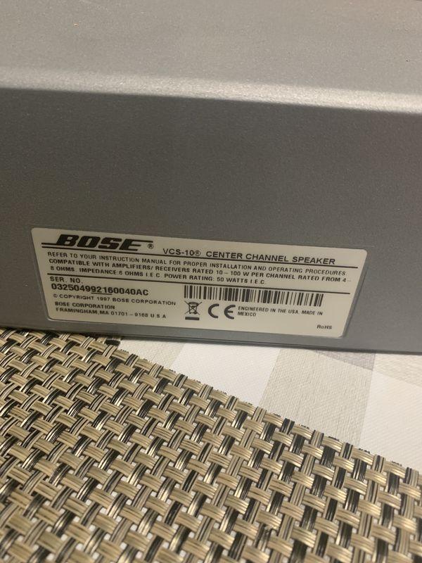 BOSE speakers center VCS-10