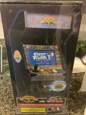 Mini 12 inch Arcade Machine Street Fighter 2 edition and Street Fighter 2 Turbo for Sale in Las Vegas, NV