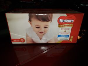 Huggies size 3 for Sale in Joliet, IL