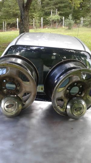Two Ford steel rims. Six lug,,, seventeen inch. for Sale in US