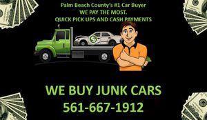 WE BUY JUNK CARS for Sale in Delray Beach, FL