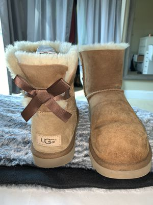 UGG boots with bow for Sale in Morgan Hill, CA