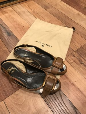 Burberry shoes 38.5 for Sale in Irvine, CA