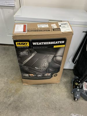 2019 Ram Crew cab Husky Weather beater floor mats for Sale in Evansville, IN