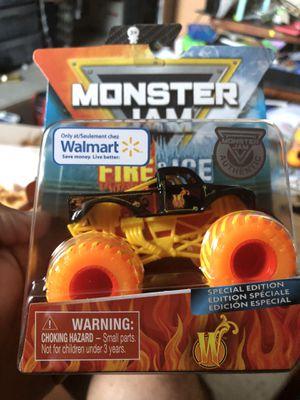 Monster Jam Fire WHIPLASH W NEW for Sale in Los Angeles, CA