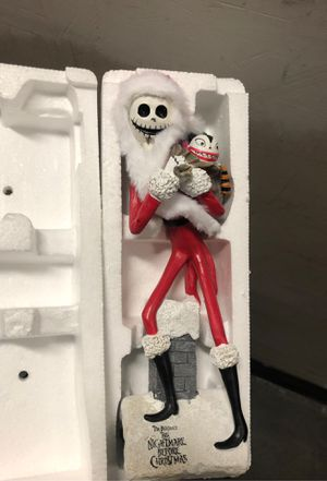 Nightmare Before Christmas Figurine for Sale in Rancho Cucamonga, CA