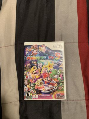 Mario Party 9 Wii 25 dollars or trade . for Sale in Fresno, CA