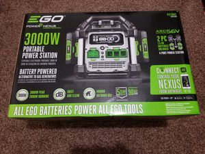 EGO 56-Volt 3000-Watt Nexus Portable Power Station Generator Powered with Two 7.5 Ah Batteries for Sale in Modesto, CA