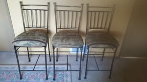 3 bar stools. for Sale in Redmond, WA