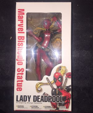 Lady Deadpool Bishoujo Statue Lady Deadpool collectable figure Kotobukiya 9 inch for Sale in Queens, NY