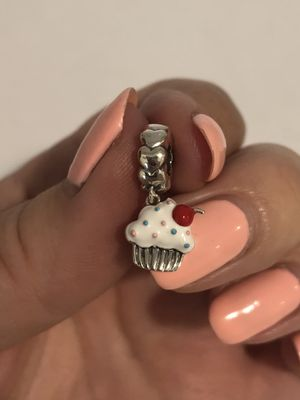 Brand New Sterling Silver 925 Cup Cake 🧁 Charm for Sale in Los Angeles, CA