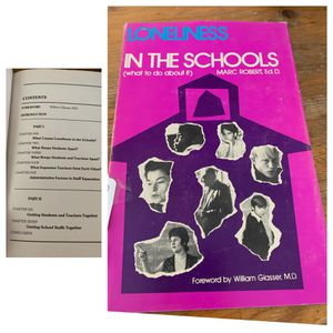 Loneliness in the Schools Hardback for Sale in Lancaster, PA