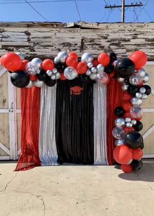 Graduation Balloon and Backdrop for Sale in Los Angeles, CA