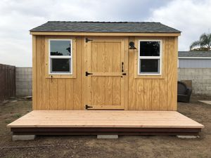 Custom Storage Sheds - McRae Buildings for Sale in San Diego, CA
