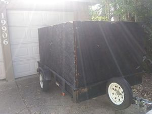 5x8 trailer / traila for Sale in Humble, TX