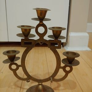 Brass decorative Candle Stand for Sale in Brooklyn, NY