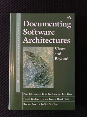 Documenting Software Architectures Hard Cover for Sale in Saint Paul, MN