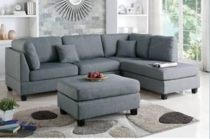 BOBKUNA SECTIONAL WITH OTTOMAN for Sale in Phoenix, AZ