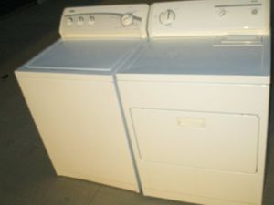 Kenmore washer and kenmore dryer heavy duty super capacity for Sale in Euless, TX