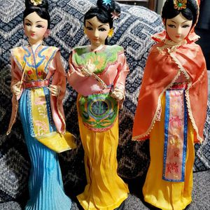 Vintage Oriental Dolls selling all 3 for only $35 for Sale in Greensburg, IN