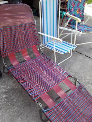 Beach chairs. for Sale in Lehigh Acres, FL