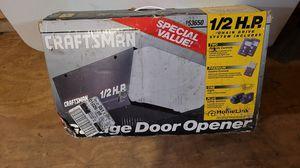 Craftsman 1/2 horsepower garage door opener for Sale in Ashland, MS