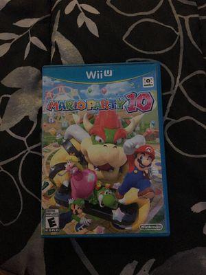 Mario Party 10 for Sale in Chesapeake, VA