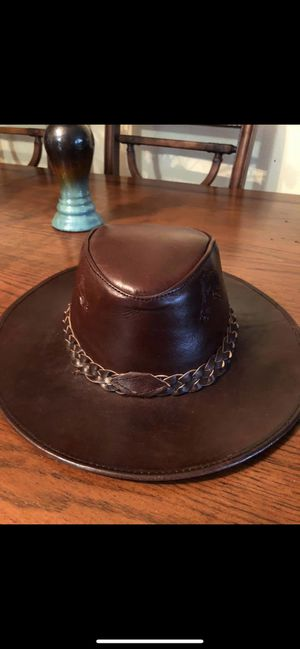 Real leather hat for Sale in Deltona, FL