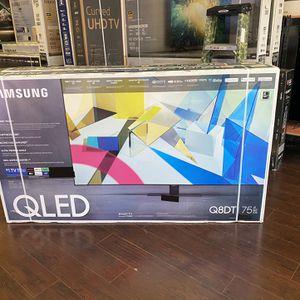 75 INCH SAMSUNG QLED Q80T Q80 Q8 SMART 4K Tv Sale GAMING TV FULL ARRAY HDMI 2.1 for Sale in Burbank, CA