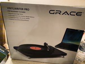 New in box!!!!! Grace Audio Vinylwriter Pro for Sale in Palmdale, CA
