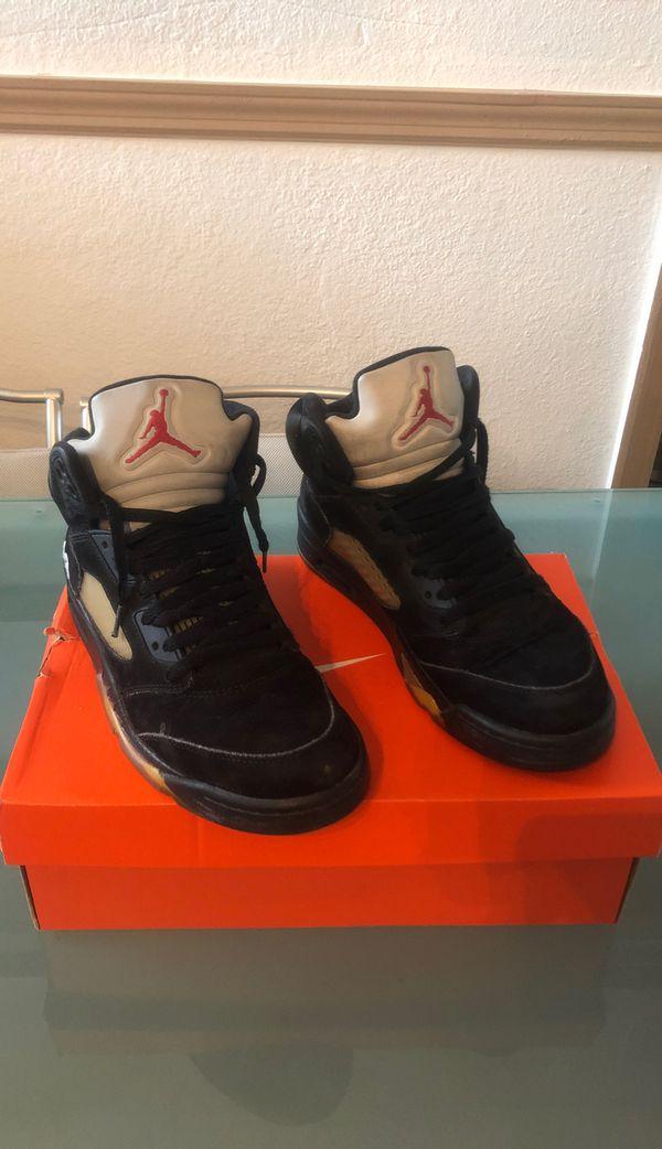 Jordan 5 Metallic Size 9.5 Beaters