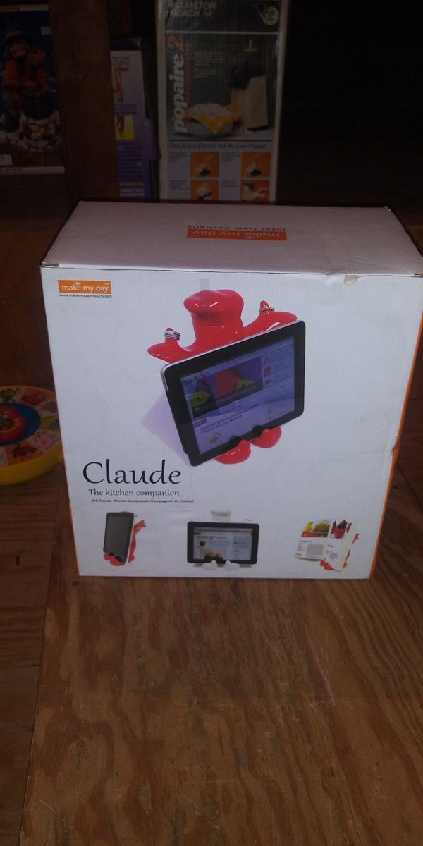 CLAUDE: tablet book cell phone holder