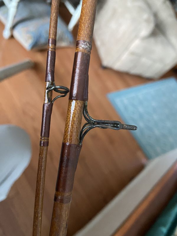 Airex Airglass spinning rod with tube