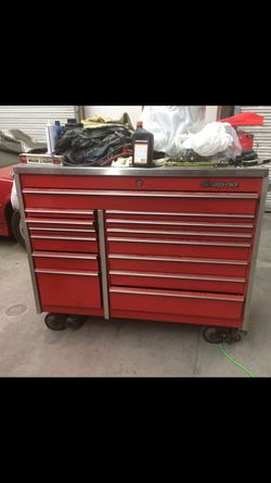 Snap On Tool Box With Stainless Steel Top for Sale in French Camp,  CA