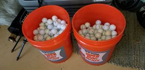 5 gal bucket of golf balls for Sale in Margate, FL