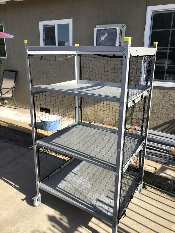 Storage Racks/Sortation Cart