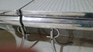 White and gray formica top table. for Sale in New Oxford, PA