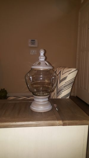 Home decor....canister for Sale in Tolleson, AZ
