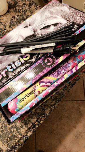 Never used Cortisio Premium Straightener for Sale in Phoenix, AZ