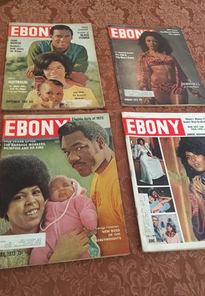 (14) Vintage Ebony Magazines for Sale in Los Angeles, CA