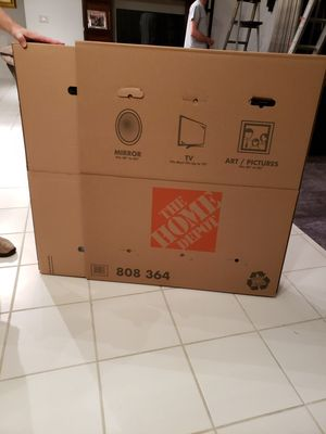 Art work/ moving box. for Sale in Tamarac, FL