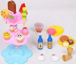 Decorative ice cream set with stand toy for Sale in Norfolk, VA