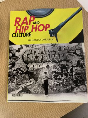 Rap and hip hop culture book for Sale in Paramount, CA