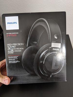 Phillips SHP9500 Open Back Headphones For Gaming Computer Desktop PC for Sale in Orlando, FL