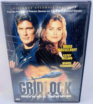 GRIDLOCK DVD David Hasselhoff Kathy Ireland HTF OOP Movie for Sale in Puyallup, WA