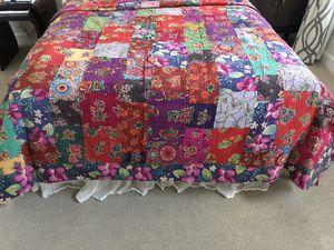 Used, Jackalope Patchwork Quilt 100% Cotton Queen for Sale for sale  Santa Fe, NM