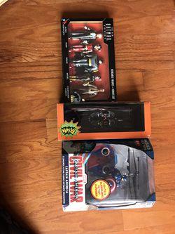 Batman figurines and captain America drone for Sale in McLean,  VA