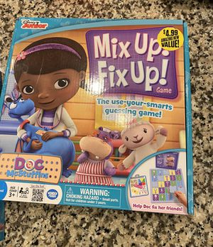 Doc McStuffins board games and puzzle for Sale in Rowlett, TX